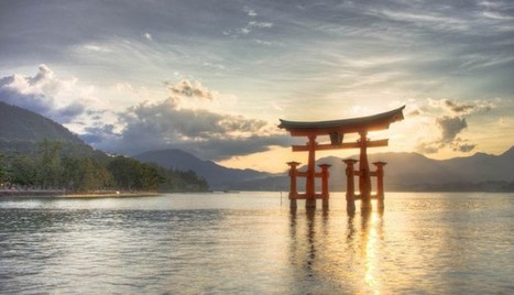 Japan Holidays In Torii gates Miyajima Island | asia holidays destination picture | Beauty building, park, and city in asia | Scoop.it