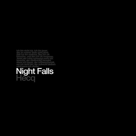 ALBUM. Ben Lukas Boysen presents Hecq - Night Falls (Remastered) — | ElectronicMusic | Scoop.it