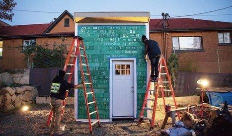 Ils construisent un ÉCO-VILLAGE pour accueillir les sans-abri | URBANmedias | Scoop.it