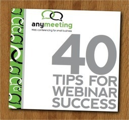 40 consigli gratuiti per organizzare un Webinar di successo! | WebinarPro | Prezi per Professionisti | Scoop.it
