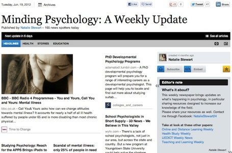 "June 19 - ""Minding Psychology: A Weekly Update"" 