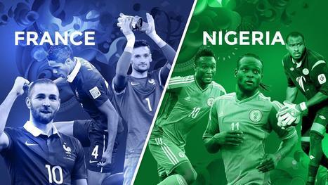 Avant match 1/8 de finale : France - Nigéria - Coupe du monde - Brésil 2014 | Coupe du monde - Brésil 2014 | Scoop.it