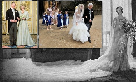 Stunning vintage wedding dresses to go on display at the V&A | British Genealogy | Scoop.it