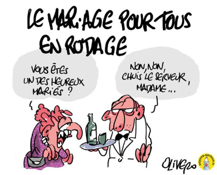 Mariage pour tous en rodage !   Baie d'humour   Scoop.it