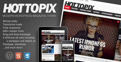 Best WordPress Themes for 2014 | Your Design Magazine | Wordpress plugins and themes | Scoop.it