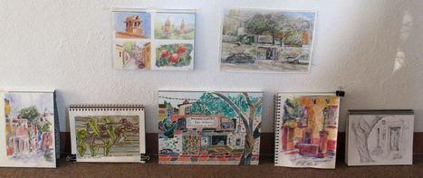 Hola from sunny San Miguel de Allende, Mexico | Barry Coombs Art ... | San Miguel de Allende, Mexico | Scoop.it