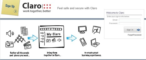 #Claro #startup #elearning tool to create great learning experience in #euneoscourses | startups by Euneos | Scoop.it