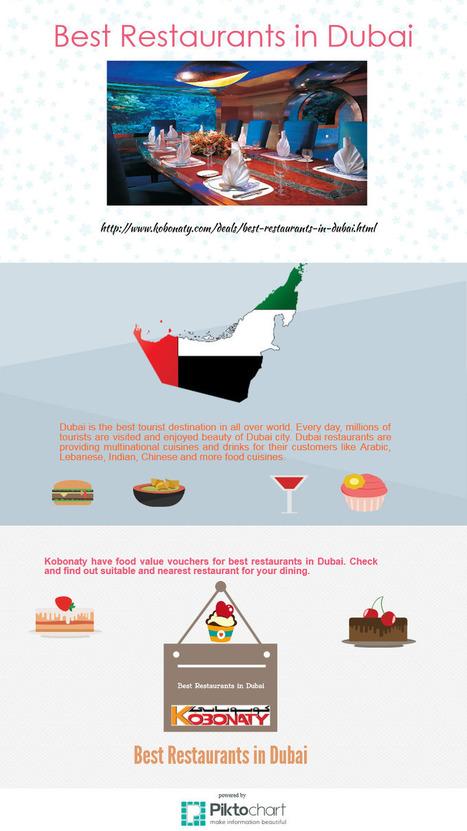 Best Restaurants in Dubai | Kobonaty deals and discounts coupons in Dubai | Scoop.it