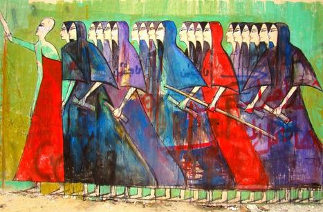 Le visage féminin du street art en Egypte | Geschwister | Scoop.it