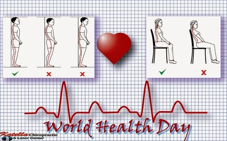 Chiropractic & Laser Therapy: World Health Day: Right Postures Set Everything Right | Chiropractic | Scoop.it