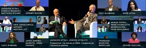 "Courant Positif : ""Jacques Attali, pour une modernité de l'altruisme 
