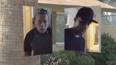 Burglars caught on camera stealing from Phoenix home | camera security | Scoop.it