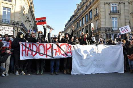 'J'ai froid mais je suis contre ACTA', dizaines de manifestations en France | Social Media and its influence | Scoop.it
