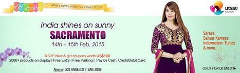 UCarnival Sacramento 2015 - Indian Ethnic Wear Fest - Folsom, | Events in Folsom | Events | Sandhira News | Scoop.it