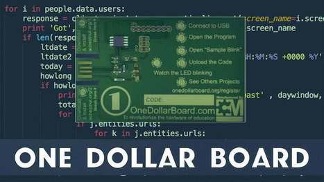 $1 Open Source Hacking Board Is Here For Programming And Electronics  | Raspberry Pi | Scoop.it