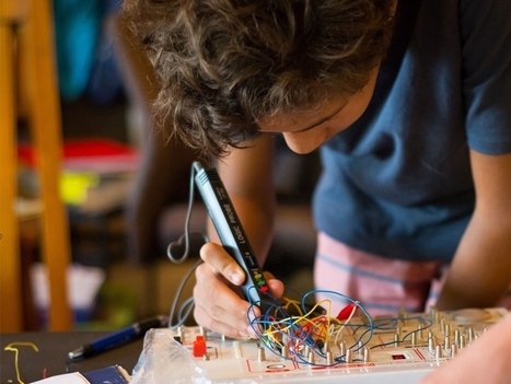 Why Making Is Essential to Learning @Edutopia #makered | Soup for thought | Scoop.it