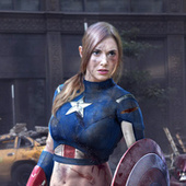 Alison Brie As Captain America: Now this is the gender-swapped Avengers we want! | Cosplay News | Scoop.it