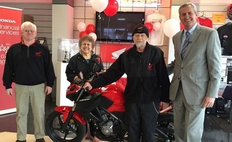 Honda Financial Service Gives Rider His 55th Honda Motorcycle - Motorcycle.com (blog) | Monarch Honda Power Sports | Scoop.it