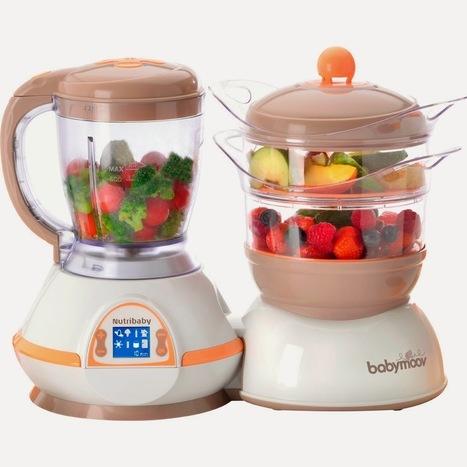 Crevette et ses 2 sushis: Nutribaby (babymoov) VS Babycook (béaba) | Babymoov | Scoop.it