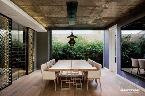 Barefoot Luxury Living: Modern Interior but Full of Natural Materials | Best of Interior Design | Scoop.it