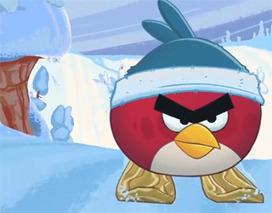 Angry Birds' 'Wreck the Halls' cartoon: Fun on the slopes, but I miss balloon bird | TonyPotts | Scoop.it