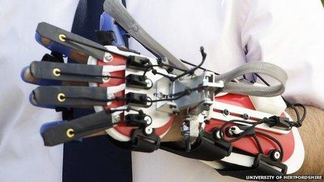 Robotic glove used for stroke rehab | Heron | Scoop.it