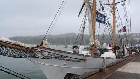 Douarnenez : Un voilier école américain fait escale au Rosmeur - maville.com | Vieux Greements et Traditions | Scoop.it