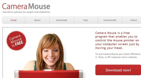 Camera Mouse - free assistive technology | Inclusive teaching and learning | Scoop.it