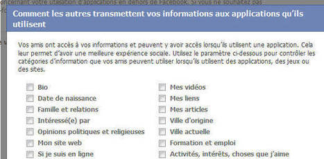 Reprends le contrôle de tes applications sur Facebook | Quand la communication passe au web | Scoop.it