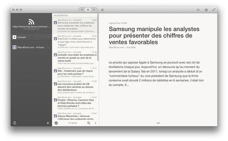 Reeder 2 pour Mac disponible en bêta | RSS Circus : veille stratégique, intelligence économique, curation, publication, Web 2.0 | Scoop.it