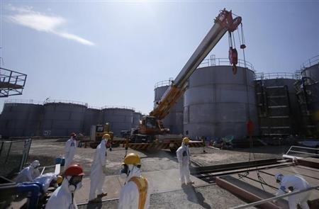 De l'eau contaminée fuit de la centrale nucléaire de Fukushima | Toxique, soyons vigilant ! | Scoop.it