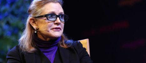 """Carrie Fisher nous parle de """"mamie Leia""""   Star Wars: épisode 7   Scoop.it"""