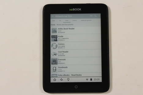 The Inkbook Obsidian e-reader | Ebook and Publishing | Scoop.it