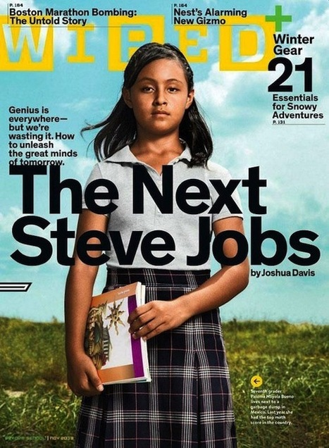 La revista  Wired  considera que una niña mexicana de 12 años es la sucesora de Steve Jobs | Discover and share the use of Information and Communications Technology in education. | Scoop.it