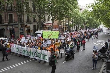 Bajo el lema 'Por el Derecho a Techo', más de un millar se menifiestan en Madrid por una Vivienda Digna | MOVIMIENTOS SOCIALES | Scoop.it