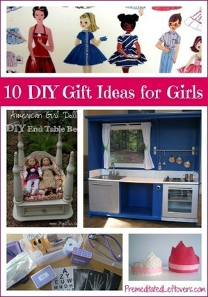 10 DIY Christmas Gift Ideas for Girls | Parent Autrement à Tahiti | Scoop.it