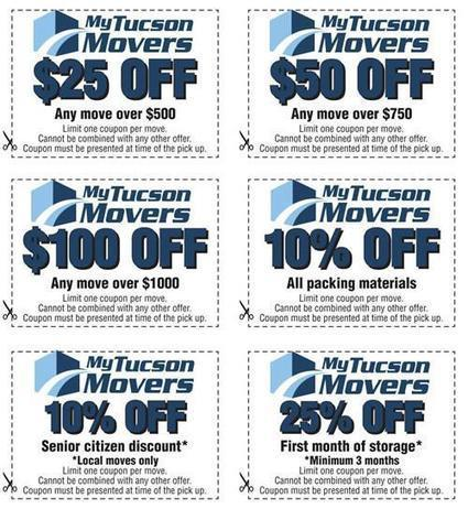 Get Discount Coupons for Move in Tucson, AZ | My Tucson Movers | Scoop.it