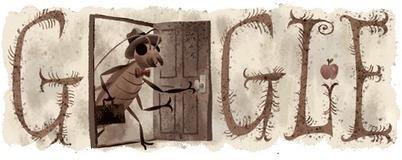 Franz Kafka 130th Birthday Google Doodle | RtoZ.org - Latest News | doodles 2013 | Scoop.it