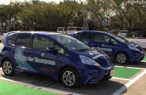 Honda Shows Off Cars That Valet Park Themselves - TIME   HondaSeekonk   Scoop.it
