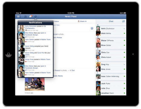 At Long Last, Facebook Releases an iPad App | Technobabble | Scoop.it