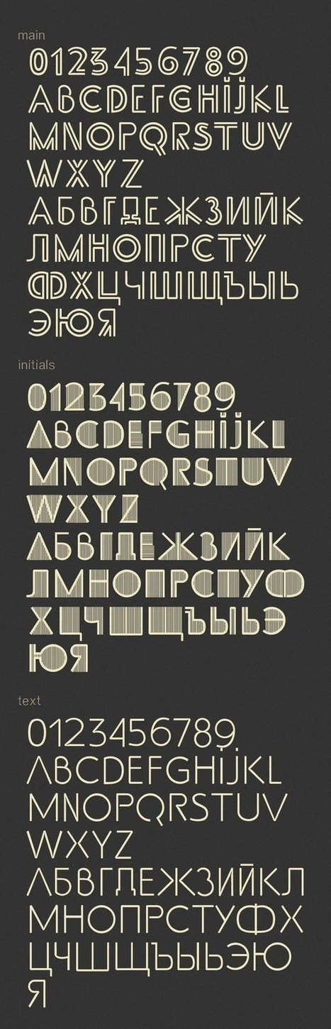 Fresh Compilation Of Free High Quality Font | PSD Helpline | Scoop.it