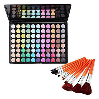 88 Colors Eye Shadow & Cosmetic Brushes Set - makeupsuperdeal.com | Makeup Sets | Scoop.it