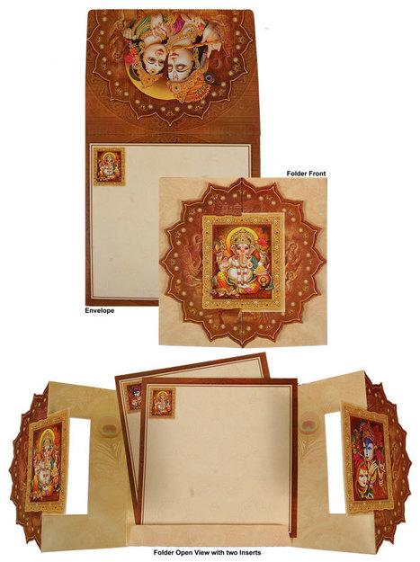 Latest Hindu Invitation Cards at Dream Wedding Car | Designer Wedding Cards | Scoop.it