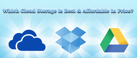 Which Cloud Storage is Best & Affordable in Price? | Web Development Blog, News, Articles | Scoop.it
