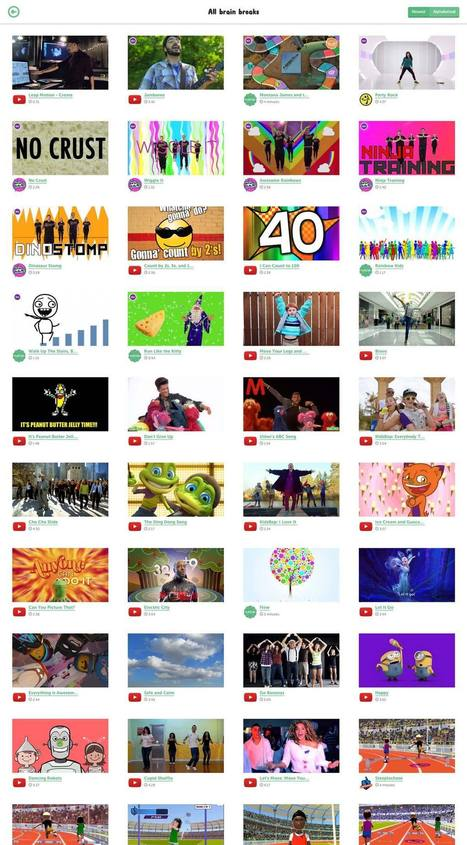 GoNoodle | New Web 2.0 tools for education | Scoop.it