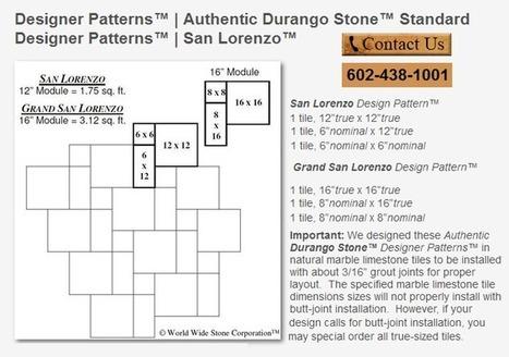 Western Los Angeles Popular Travertine Tile Flooring Patterns | Popular Marble Limestone Travertine Tile Patterns | Scoop.it
