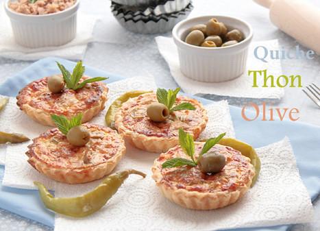 Quiche thon/olive   cuisine algerienne et recettes de ramadan   Scoop.it