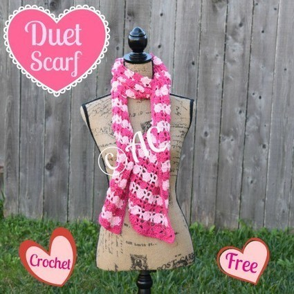 Duet Scarf | Crochet | Scoop.it
