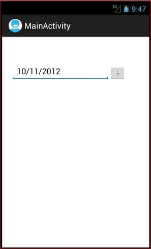Android DatePicker   Android Development for all   Scoop.it