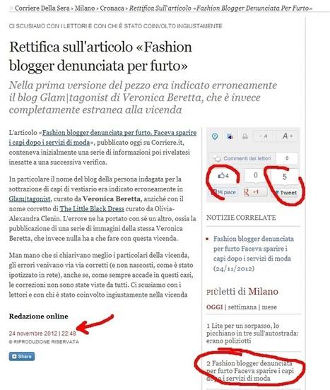 Quando i giornalisti parlano di fashion blogger | Maurizio Galluzzo | Ecosistema XXI | Scoop.it